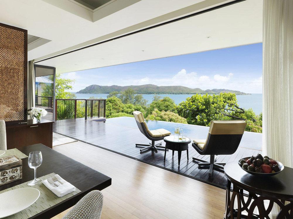 Raffles Praslin, Seychelles - Anse Takamaka, Praslin, Seychelles