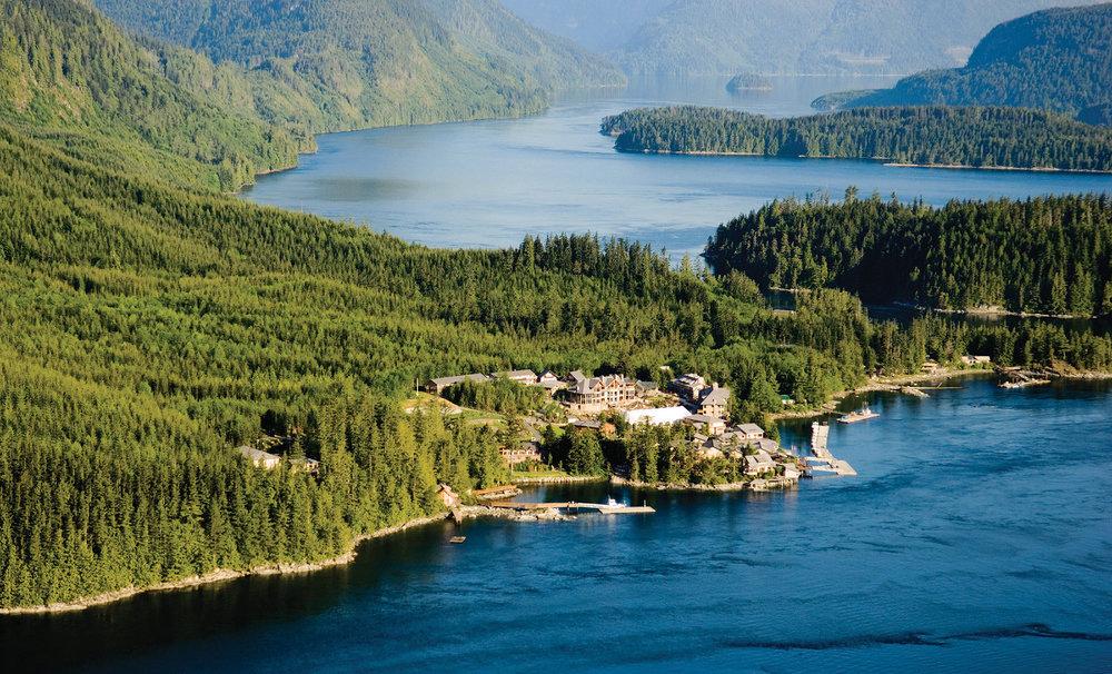 SONORA RESORT - Sonora Island, British Columbia, Canada