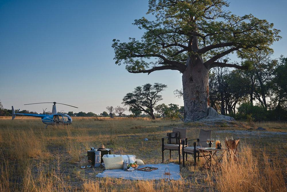 BELMOND EAGLE ISLAND LODGE - Botswana, Africa