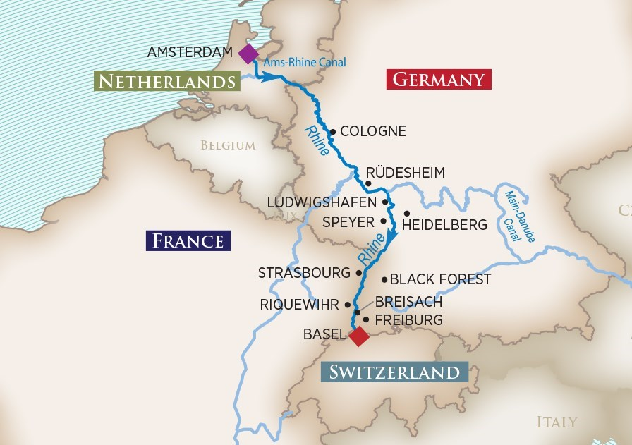 CAPTIVATING RHINE - 7-NIGHT CRUISECRUISE YEAR 2019