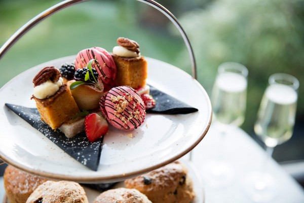 Afternoon Tea | A British tradition - Indulge in a selection of finger sandwiches, miniature desserts, scones miniature desserts and a variety of teas, coffees and beverages.