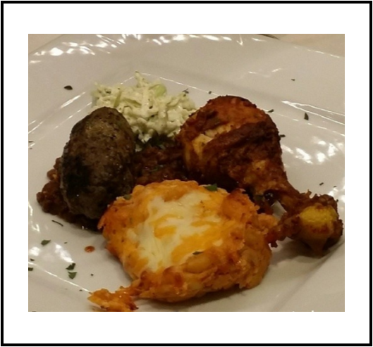 Tasting Oklahoma - Course 3: Chef Miranda KaiserLaffa Medi-Eastern Restaurant & Bar