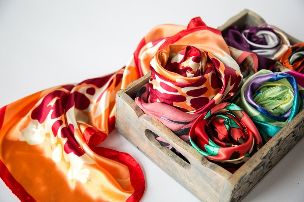Donate A Scarf - Rather than pushing your older headscarves to the back of the closet, send them to us so we can pass on courage and strength on your behalf.