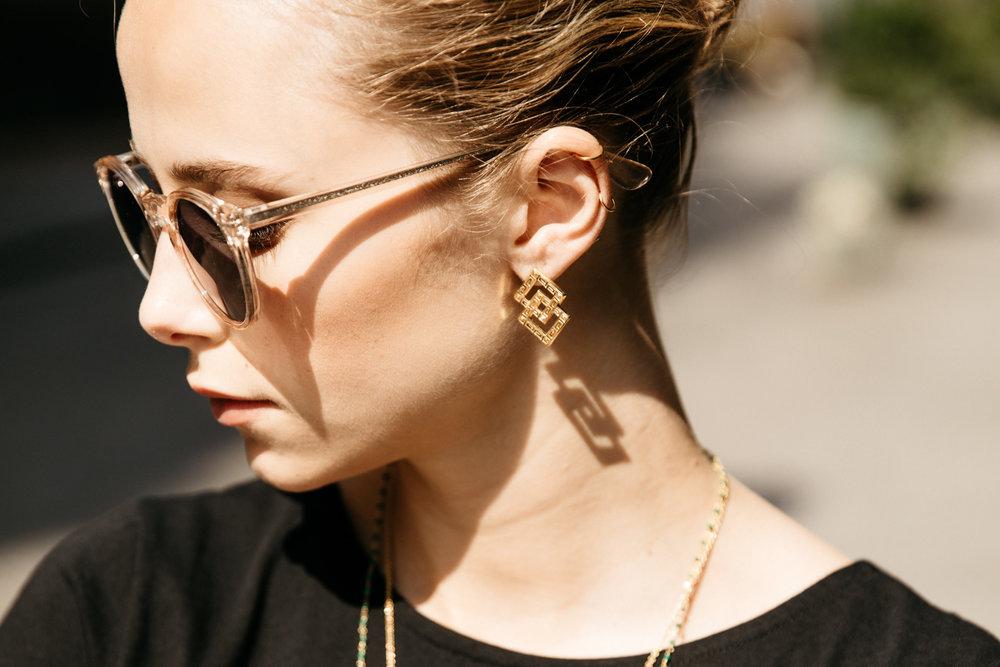 Les jolis bijoux - J'ai imaginé cette deuxième collection de bijoux en référence au Paris des Années Folles et à l'Art Déco.Tout en délicatesse et légèreté, ils illumineront vos tenues et apporteront ce