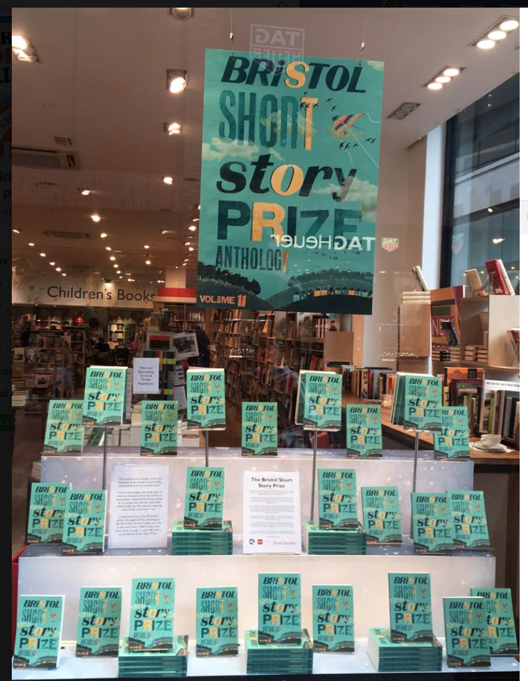 The brilliant window display at Foyles, Bristol!