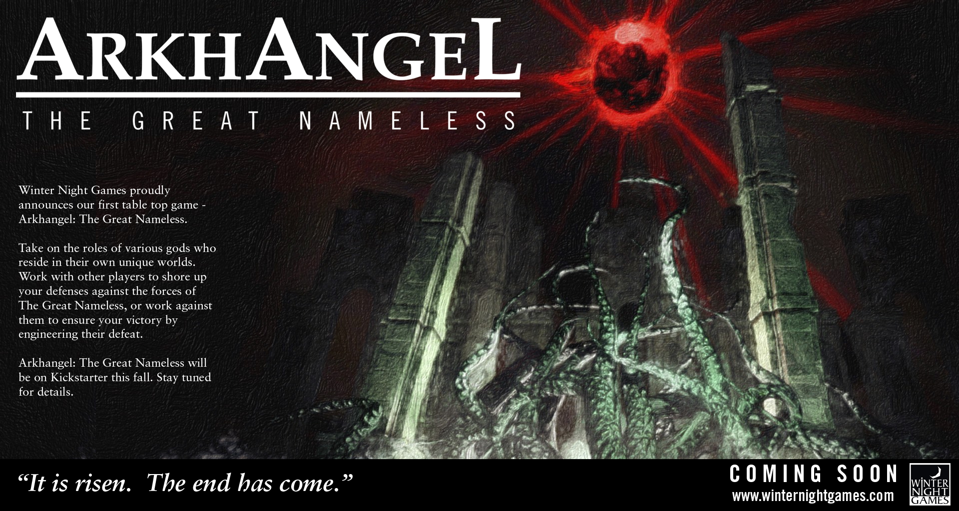 Arkhangel: The Great Nameless
