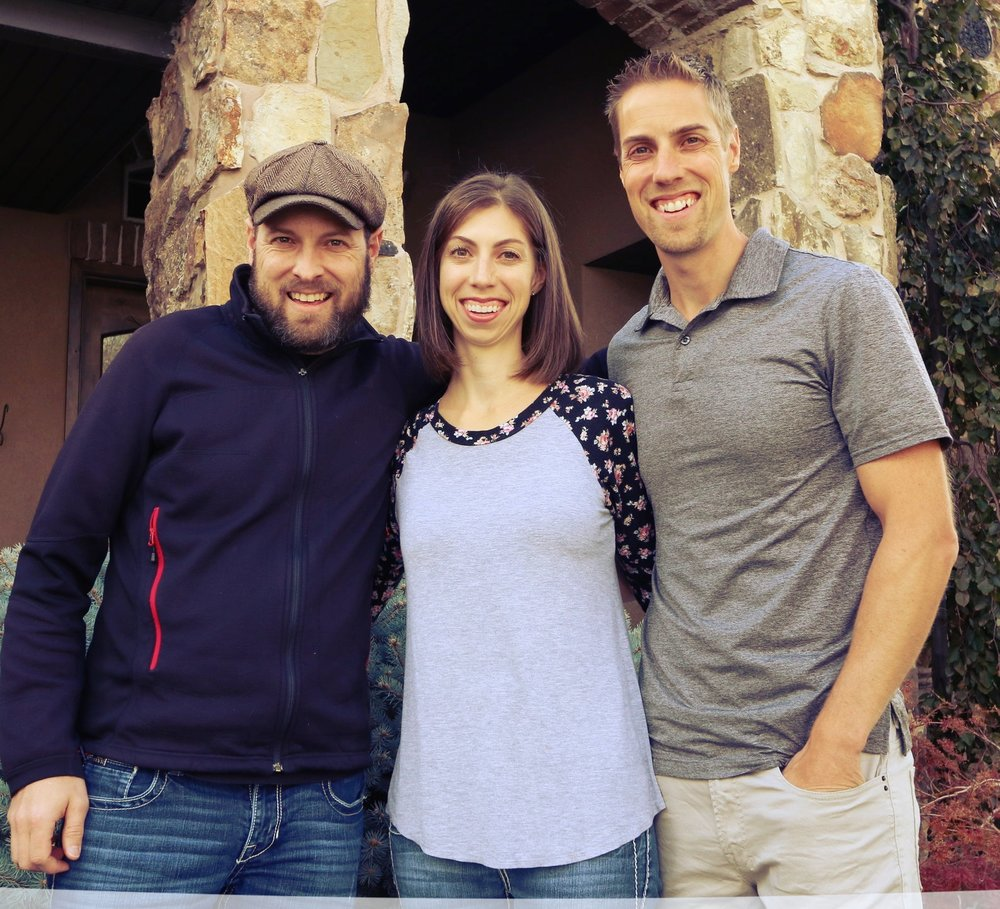 Left to right: Jason McFarland, Kelly Otteson & Andy McFarland