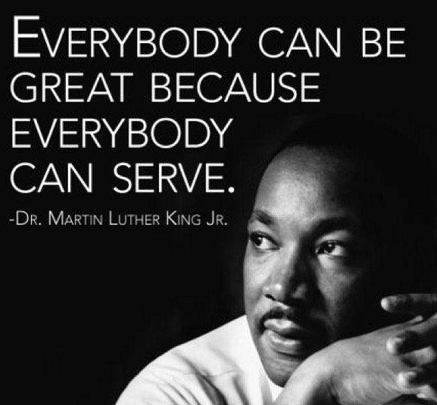#liverad #inspiringkindness #wecanalldosomething #whatwillyoudo #makeadifference #giveback #serve #service #martinlutherkingjr #begreat