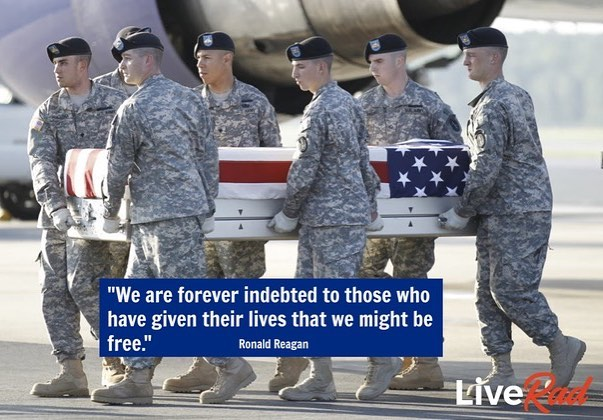 Gratitude  #liverad #inspiringkindness #wecanalldosomething #whatwillyoudo #compassion #sharegoodness #giveback #serve #military #veterans #memorialday #gratitude #freedom #sacrifice