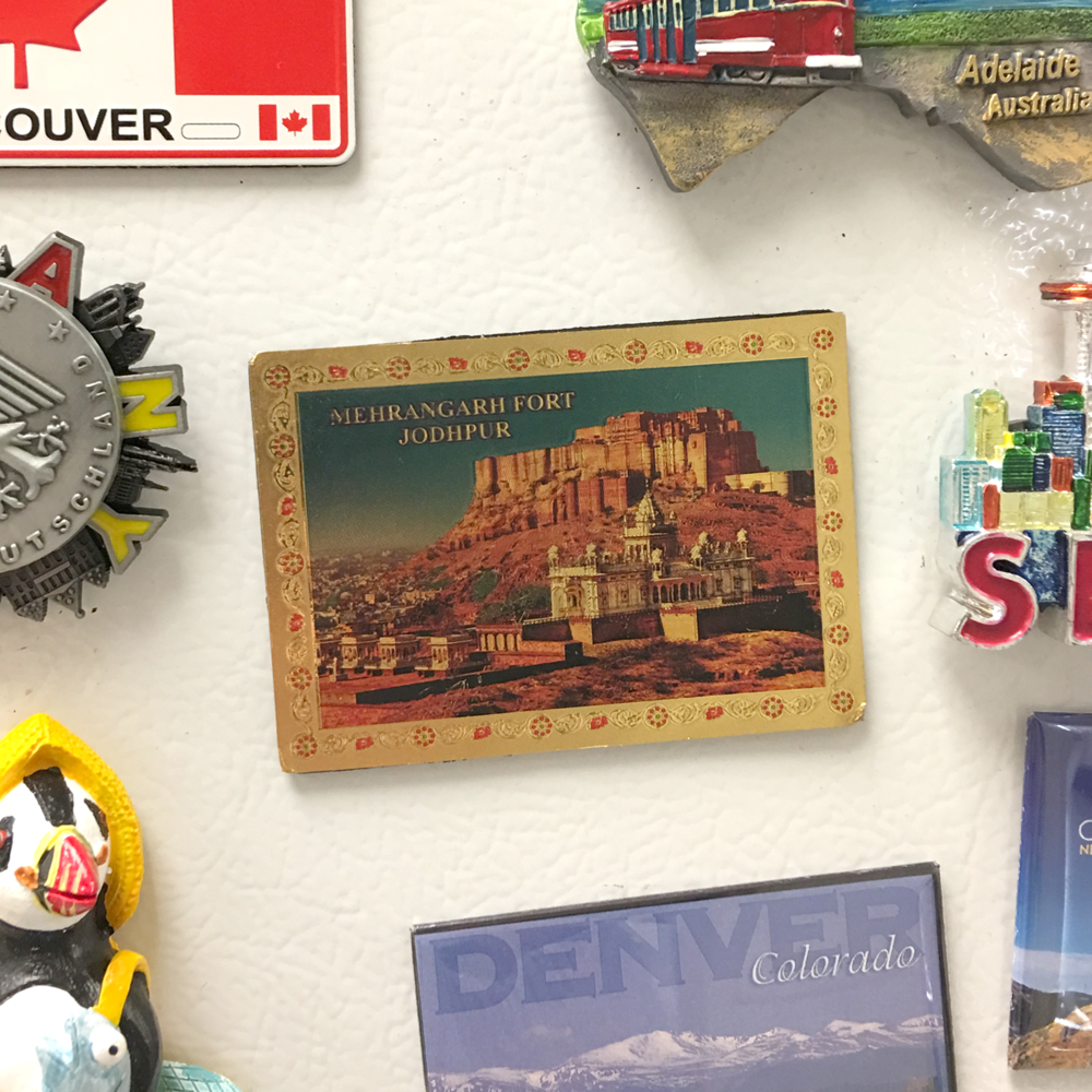 (Ed. note: Kate started a lab tradition where we add a magnet to the freezer door to commemorate any trips)
