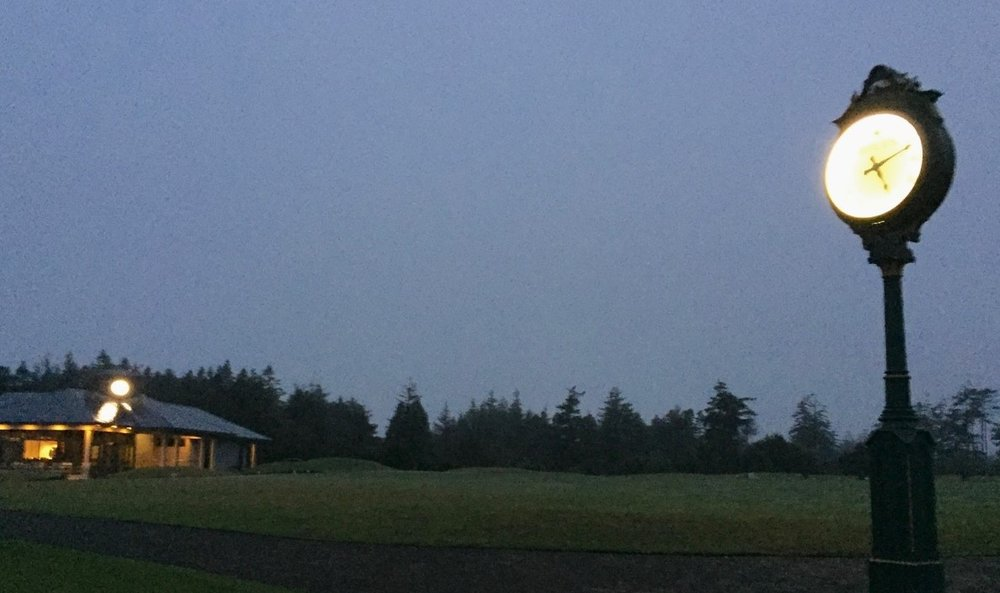 The first group out for the Bandon Solstice teed off at 5:15 a.m.Courtesy Steve Dipaola