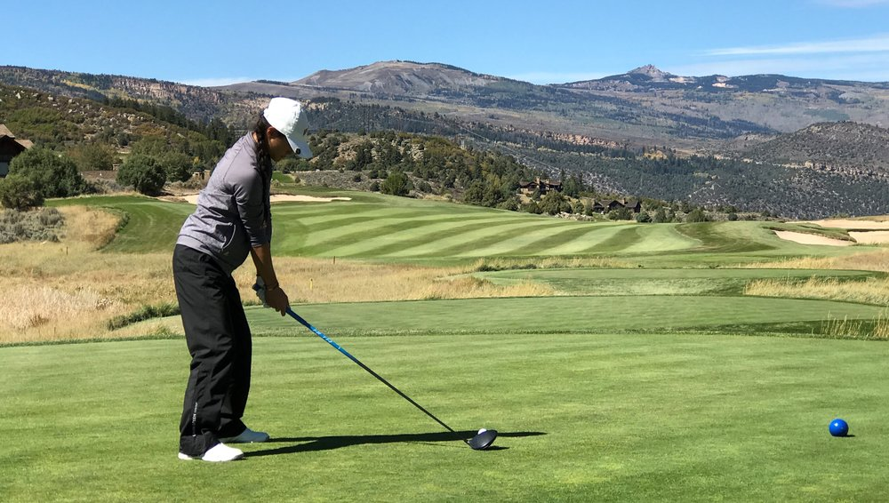 The scenic views at Red Sky Golf Club in Vail, Colo., provided a nice backdrop for an important Denver victory. Photo courtesy Denver Athletics