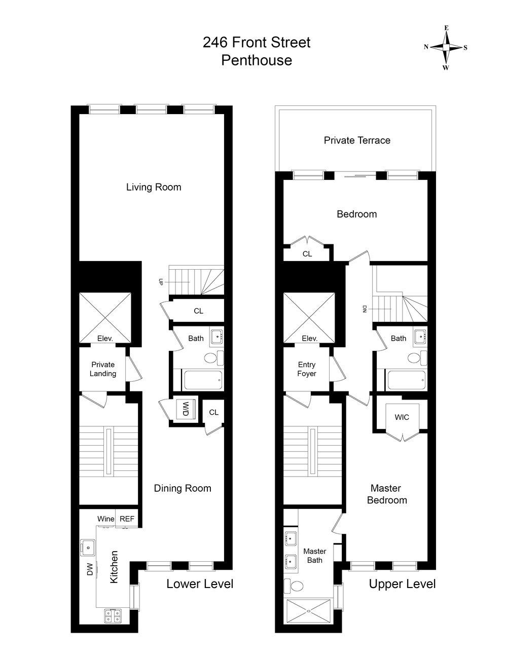 Floor Plan - 246 Front Street Penthouse NO DIMS.jpg