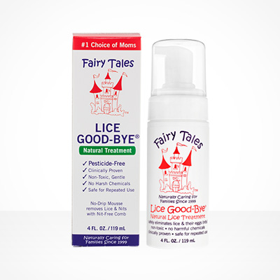 Lice Goody-bye, all natural treatment