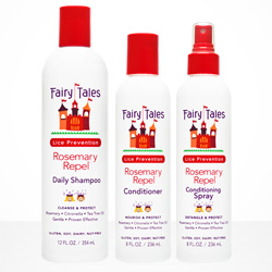 Rosemary Repel Shampoo + Conditioner for lice