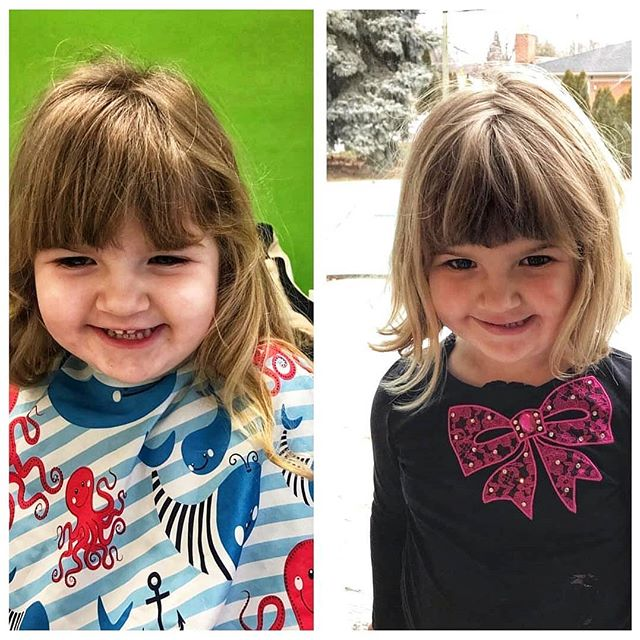 We love before-and-afters! And what a pretty smile. Photo by @cct204.