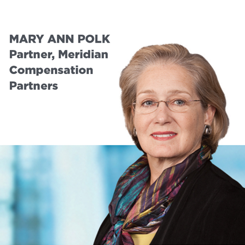 Interview Meridian Compensation Partners' Mary Ann Polk talks pay-for-performace disclosures. READ THE INTERVIEW>