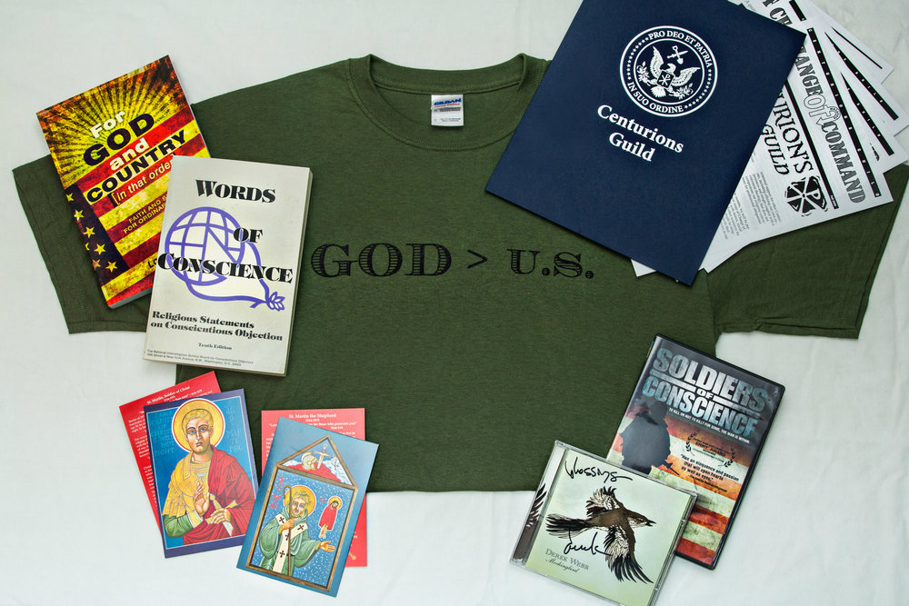 Care Packages - Are you a Christian soldier or veteran living at the intersection of faith and service? Give us your mailing address and we'll send you some free resources. Is your congregant or loved one a Christian soldier or veteran? We'll send them to you so you can share it with them with a handwritten note of encouragement.