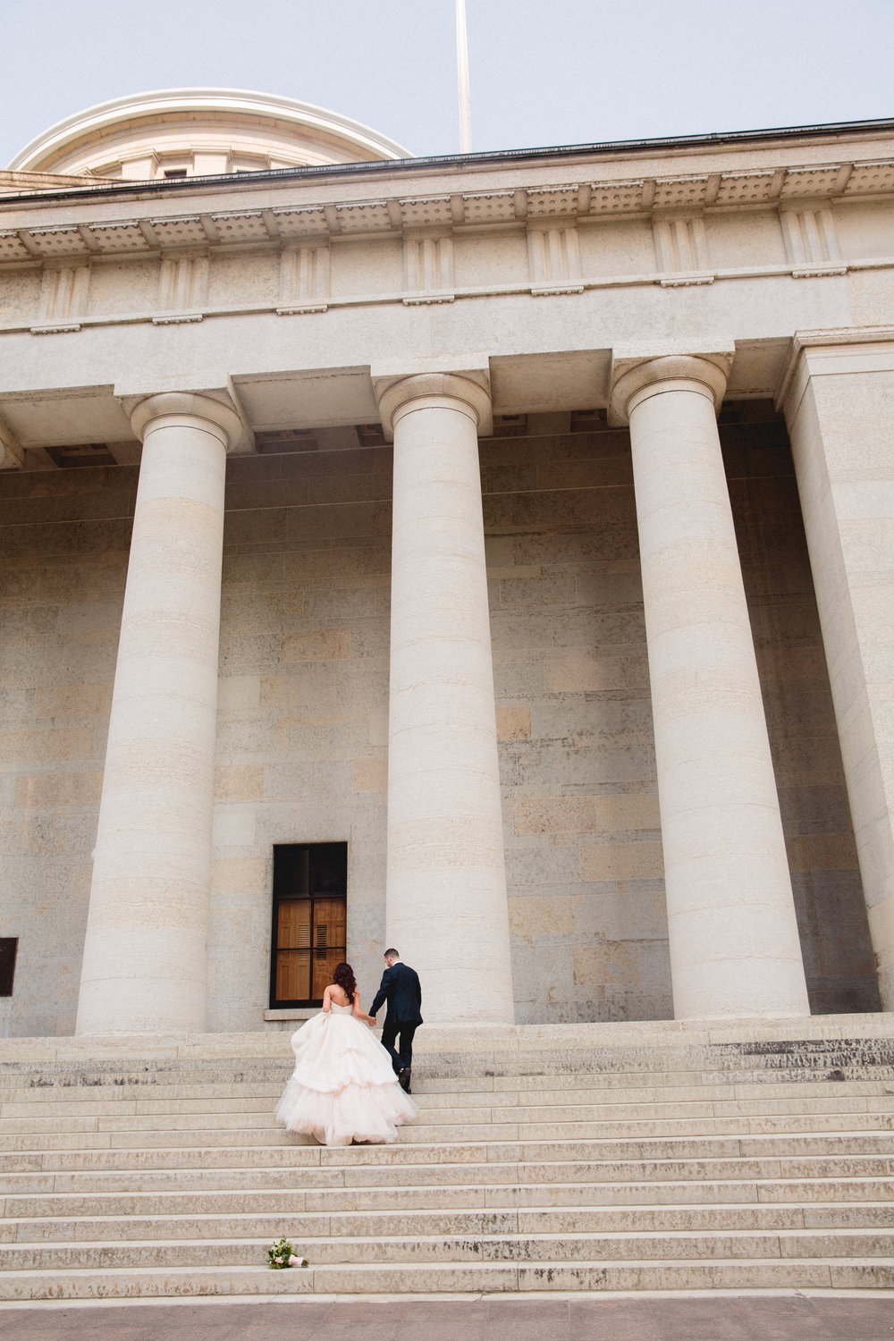 Ohio State House Wedding Photography