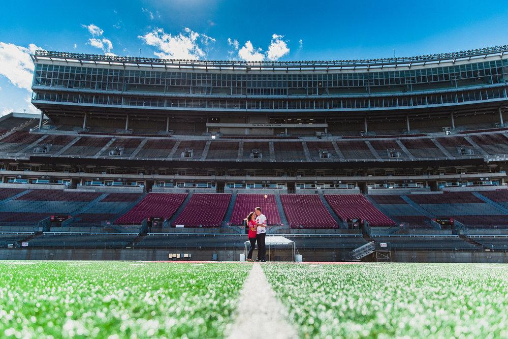 Ohio Stadium Engagement