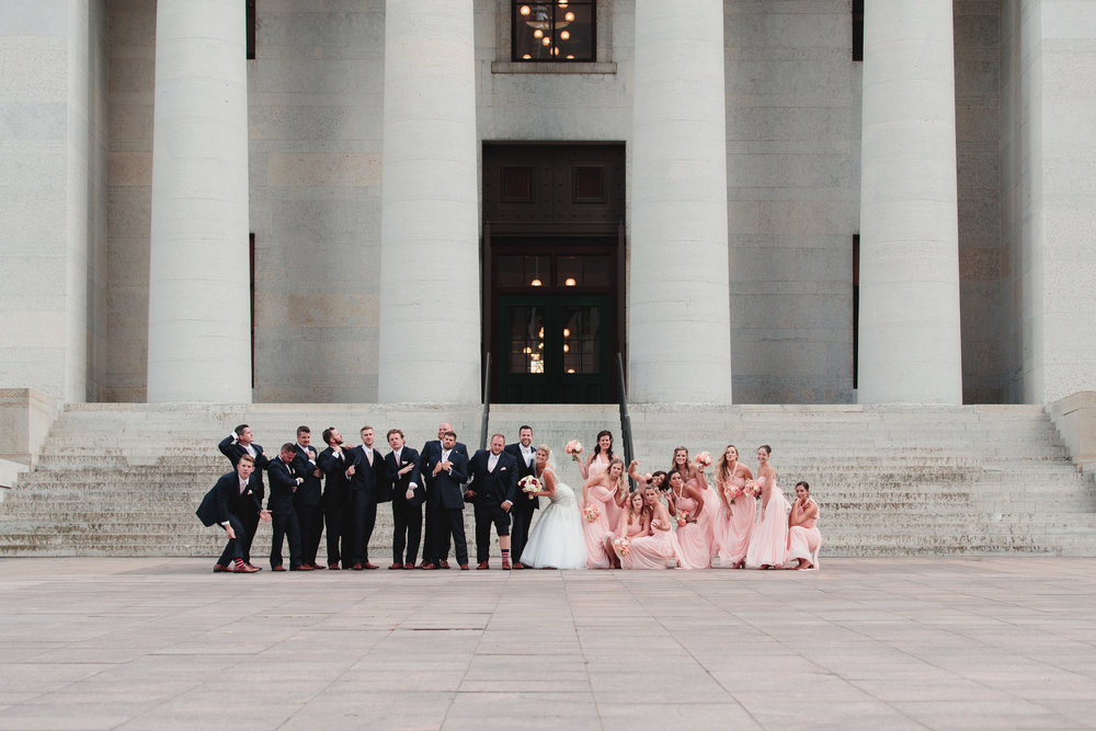 Ohio Statehouse Wedding Photography - Columbus Wedding Photographers
