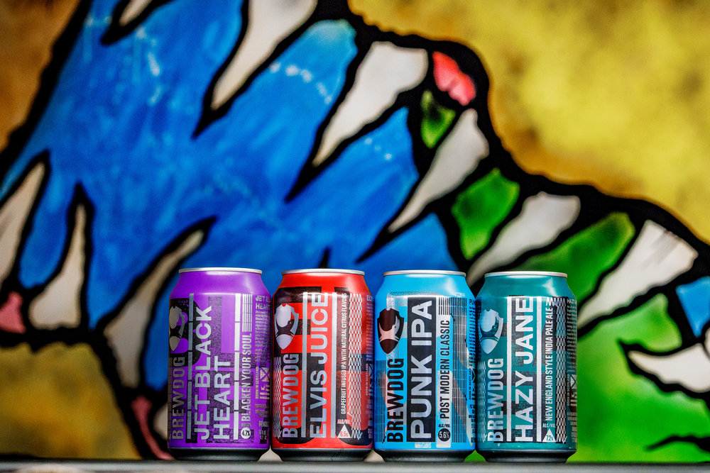 Product Photographer Ohio - Brewdog USA Photos