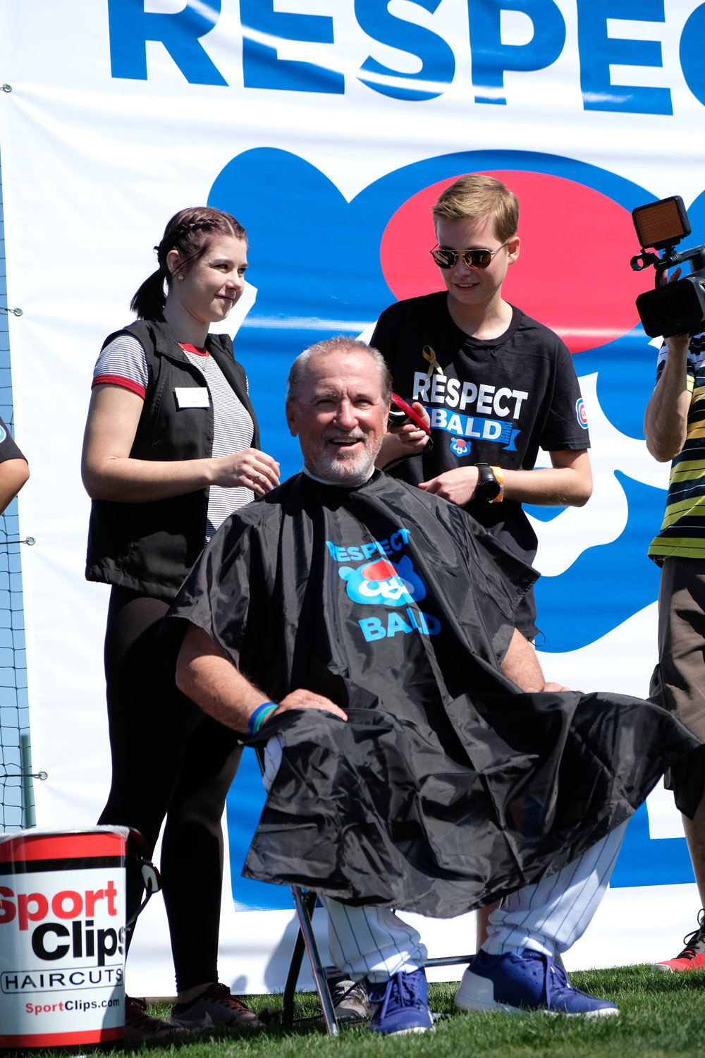 Chicago Cubs Respect Bald Event