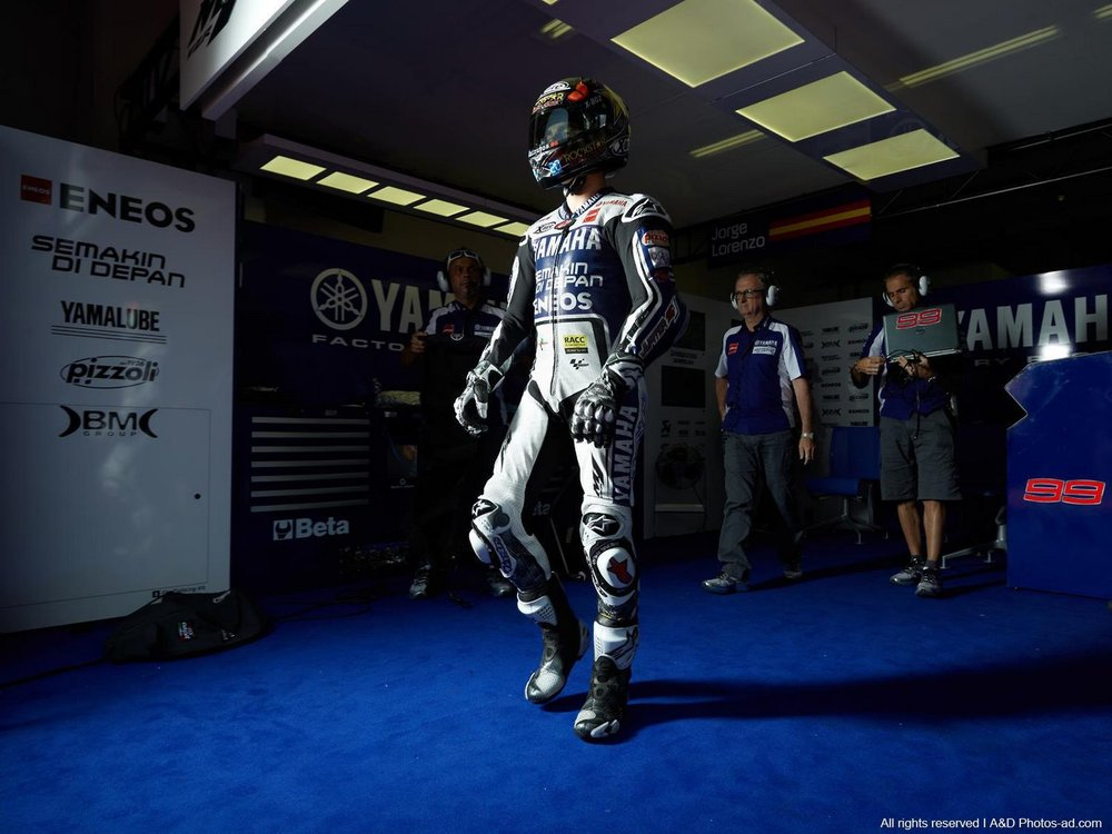 Jorge Lorenzo in Mugello
