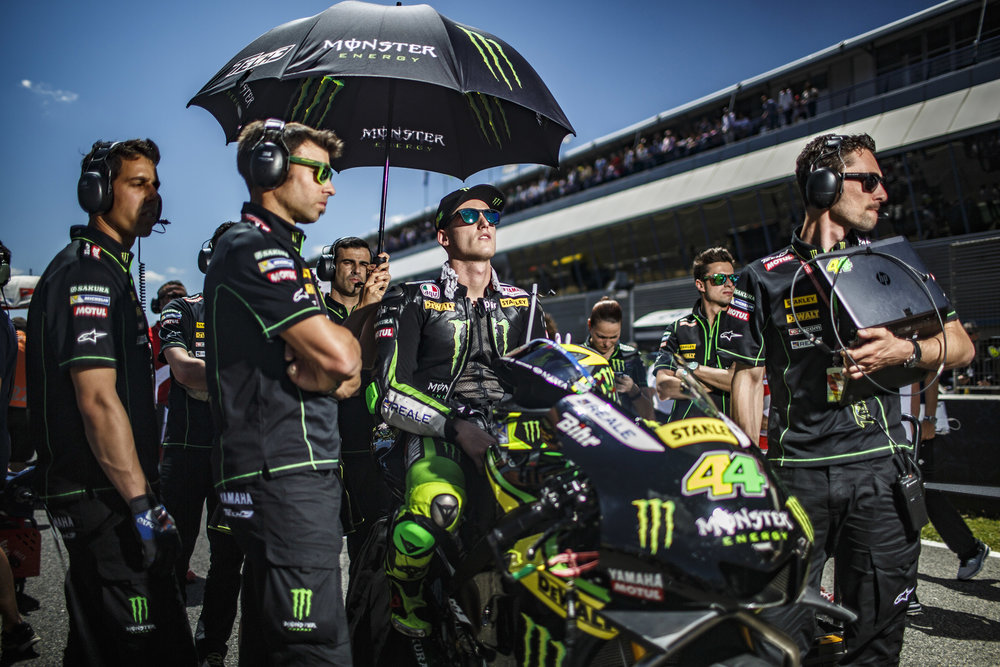 Pol Espargaro on starting grid