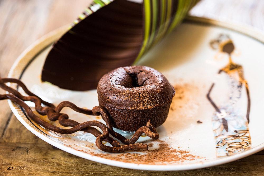 Fondant au chocolat - Photographe culinaire