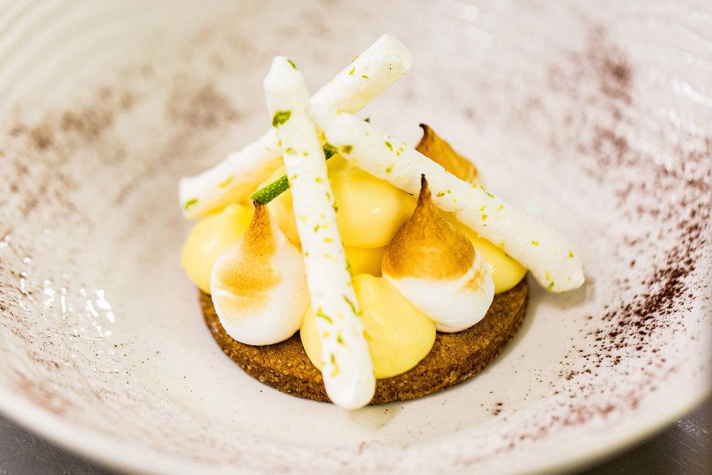 Tarte au citron - Photographe culinaire