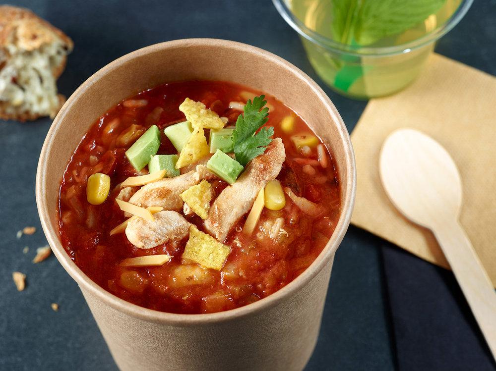 Soupe Mexicaine - Photographe culinaire