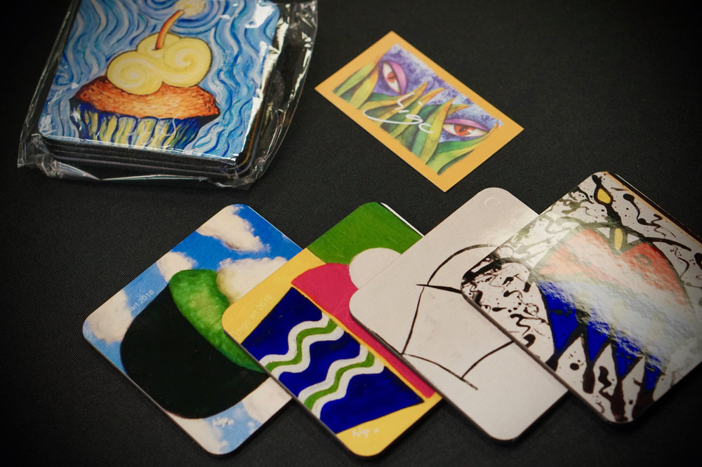 Higo Art - Beverage Coasters