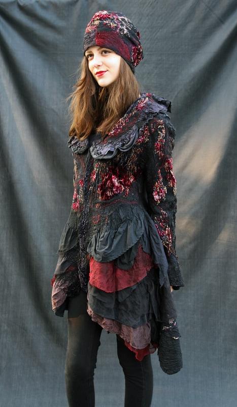 Nuno Felt Dress - Feltunik