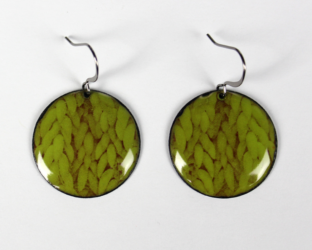 Donkey Tail Succulent Earrings Acid Green.JPG