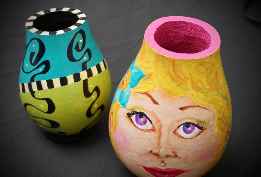 Mary Hegarty - Gourd Artist