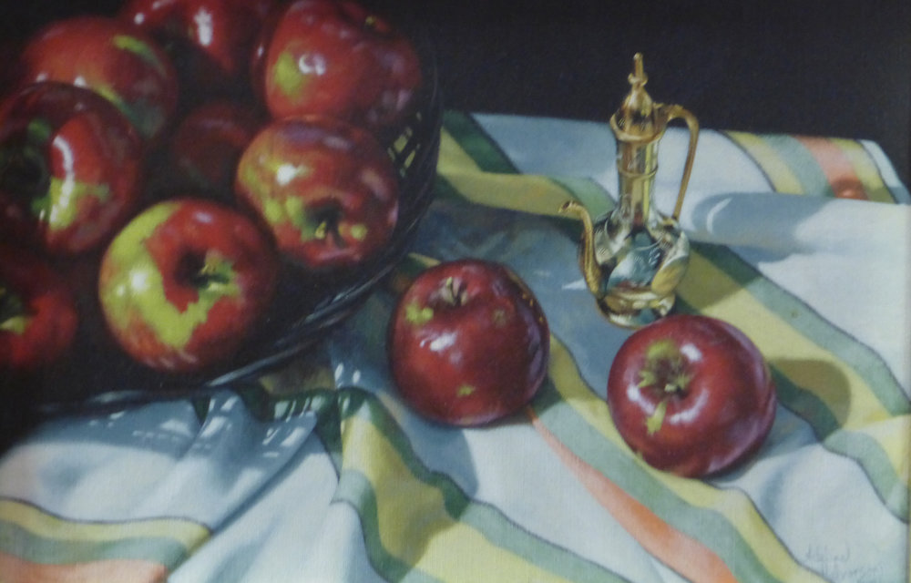 Apples, by Adeline Halverson