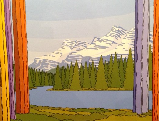 Rundle Range, by Allan Milne