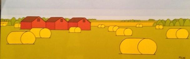 Prairie Trio, by Allan Milne
