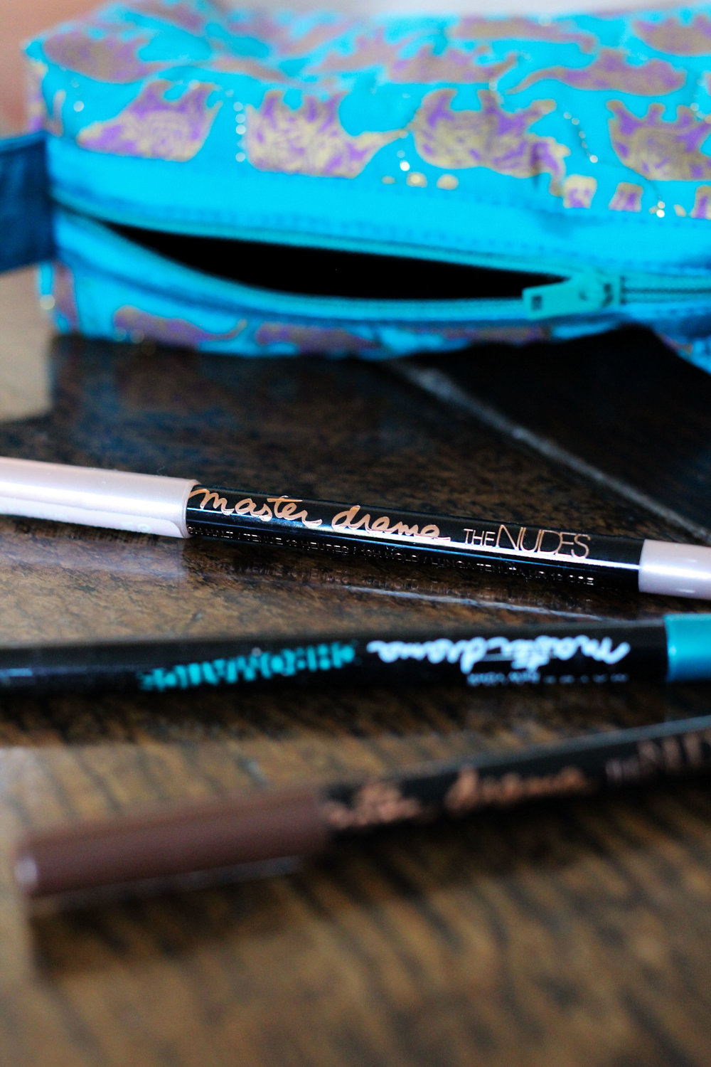 The makeup marvel in question is the Master Drama Pencil Eyeliners from Maybelline, a super soft gel-like pencil liner that goes on like a dream and stays put, no questions asked.      -