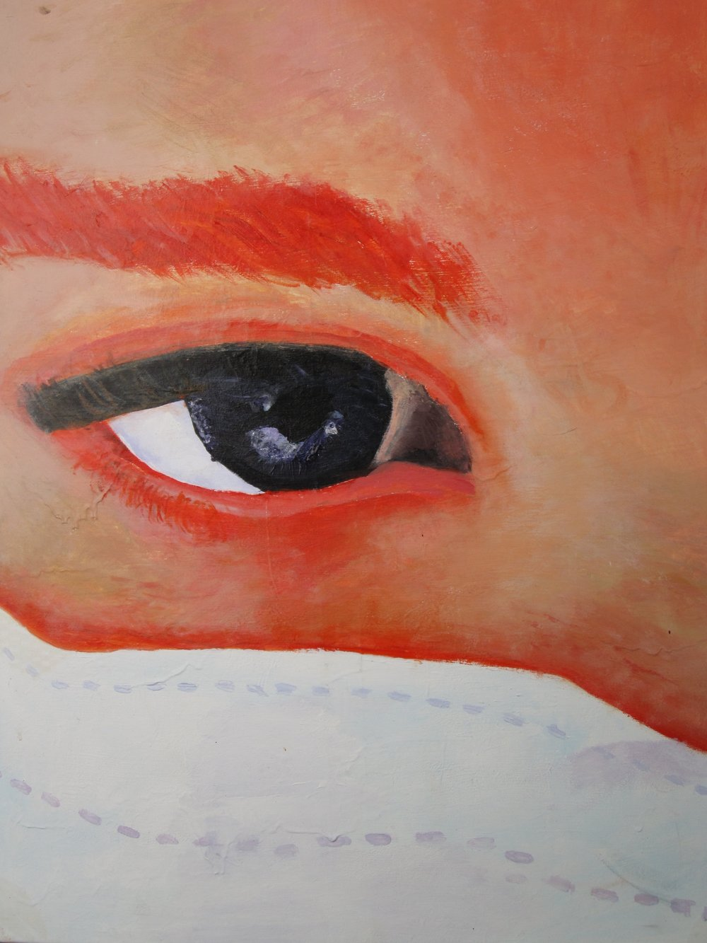 A painting of mine that I did in high school - sorry, I haven't got my photography mojo back yet :)