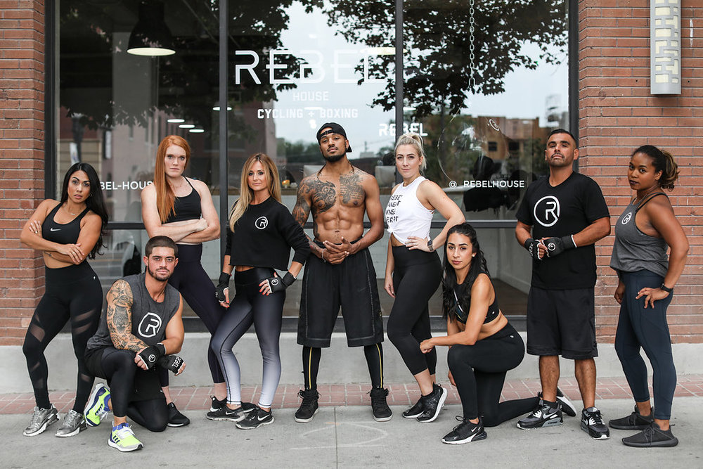 MEET THE REBEL SQUAD - We are here to keep you energized, challenged and most importantly, inspired. We are your REBEL SQUAD.