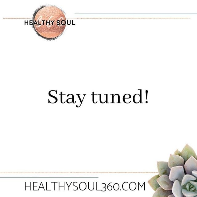 I have some very exciting announcements coming this week with @healthysoul360 !  If you're not following already and you dont want to miss out, then make sure you hit that follow button! I'll be going LIVE over there, on the public Facebook fan page AND in my FREE community Wholeful Soul Sisters!  If you want to be the absolute first who gets all these juicy details before they're announced to the public, then I highly recommend that you enroll in The Steadfast Sisterhood (link in bio) and start your free 5 day trial! . . . #healthysoul360 #announcement #creativepreneur #givemejesus #thesteadfastsisterhood #sisterhood #sistersinchrist #soulsisters #faith #fitness #food #wholefulsoulsisters #community #newyork #hudsonvalley
