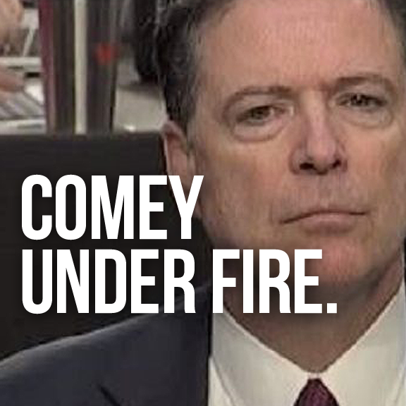 LAW NEWZ: Comey was Before Congress to Indict Trump. Instead, He Might Have Indicted Himself >>