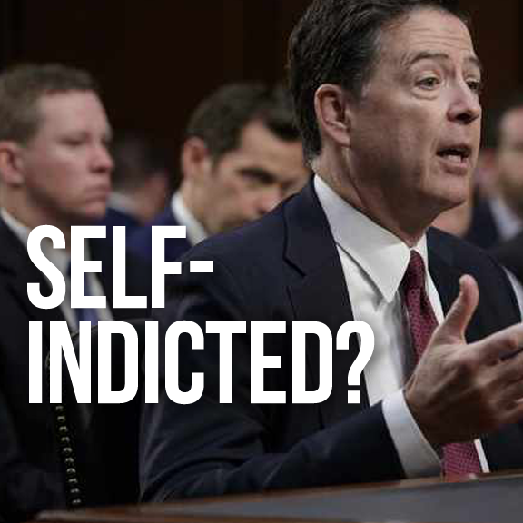 LAW NEWZ: Comey Tried to Indict, May Have Indicted Himself  -- The Key interlude occured when >>