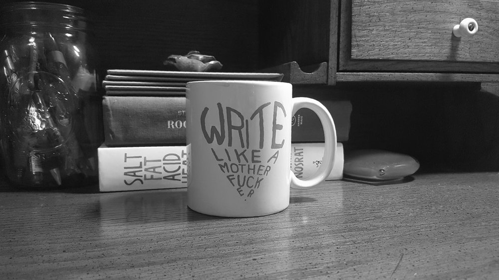 More inspiration for writers, from my desk to yours.