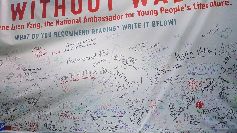 More recommendations--from the crowd at the 2017 Texas Book Festival.