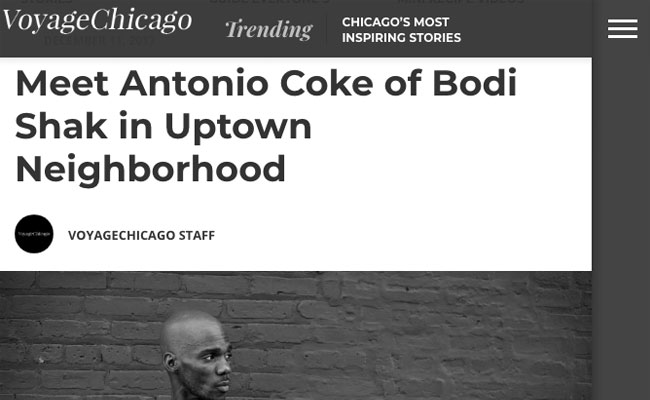 http://voyagechicago.com/interview/meet-antonio-coke-bodi-shak-uptown-neighborhood/