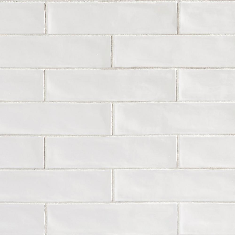 Backsplash   Villa Artisan Frost   This rectangular-shaped tile decorative creates an artful break in patterns. The right kind of tile decorative can add a colorful and artistic boost to the rooms in your home. Tiles are an easy way to make an instant impact in kitchens, bathrooms, and more.
