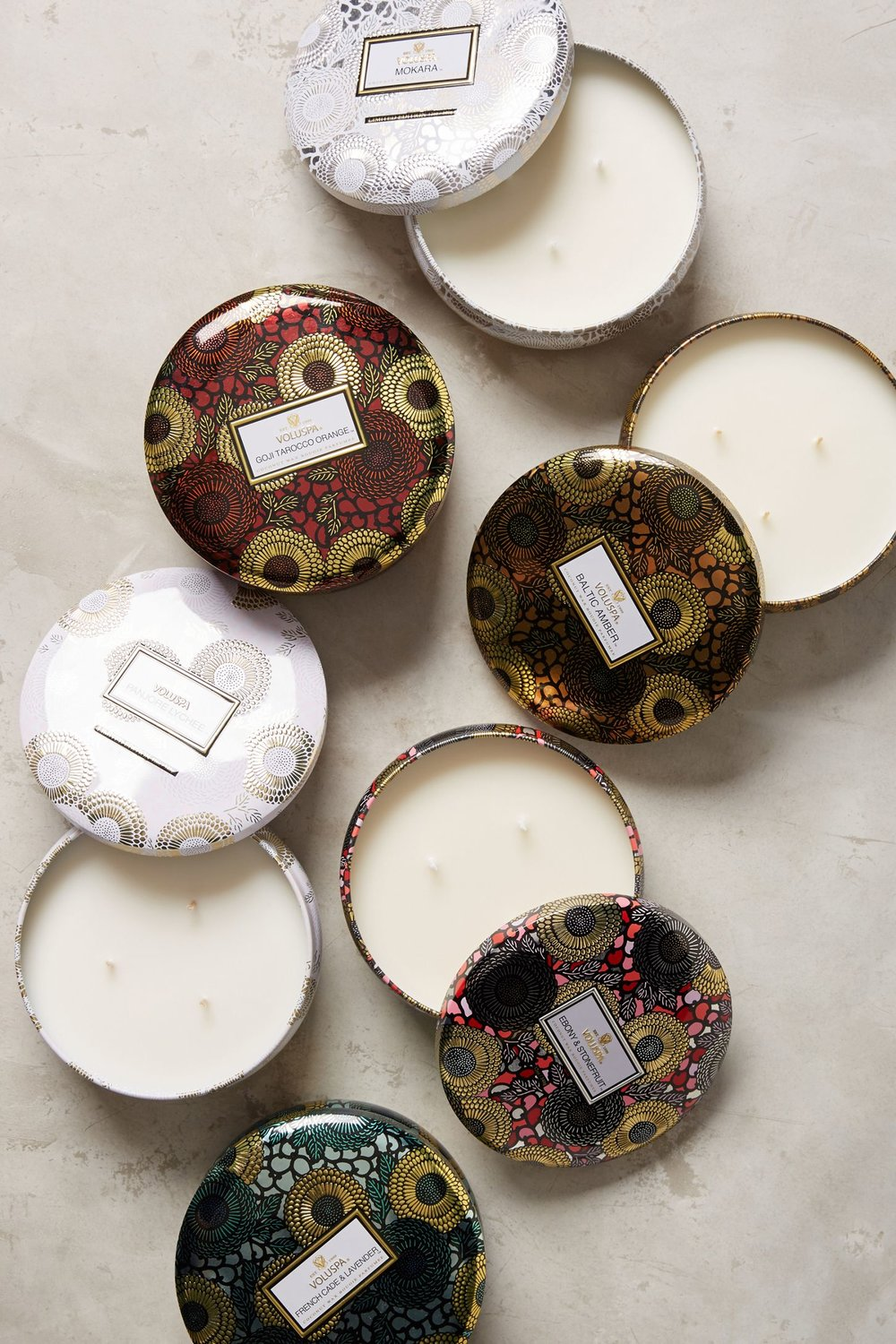 Voluspa Limited Edition Japonica Candle Tin -
